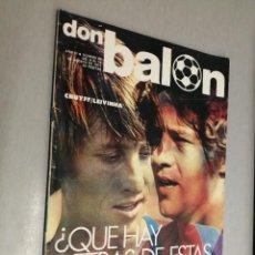 Coleccionismo deportivo: DON BALÓN Nº 96 - AGOSTO 1977. Lote 235985905