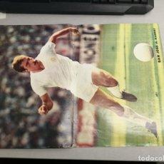 Coleccionismo deportivo: PÓSTER SAN JOSÉ - REAL MADRID / DON BALÓN Nº 120 ENERO FEBRERO 1978. Lote 236006700