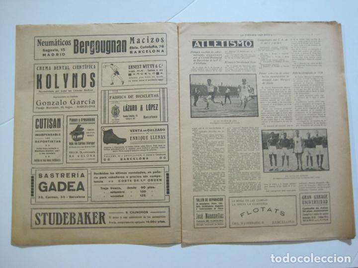 Coleccionismo deportivo: LA JORNADA DEPORTIVA-Nº 30-MAYO 1922-ESPAÑA VS FRANCIA-ALCANTARA-ZAMORA-FUTBOL-VER FOTOS-(V-22.464) - Foto 5 - 236028415