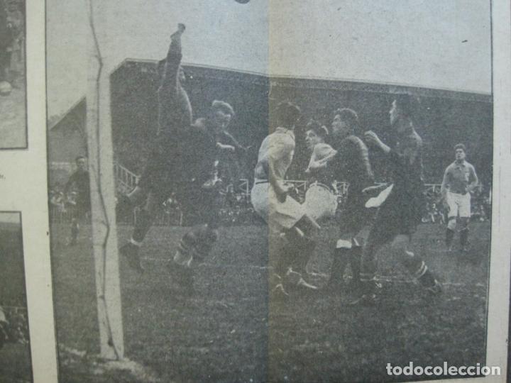 Coleccionismo deportivo: LA JORNADA DEPORTIVA-Nº 30-MAYO 1922-ESPAÑA VS FRANCIA-ALCANTARA-ZAMORA-FUTBOL-VER FOTOS-(V-22.464) - Foto 12 - 236028415
