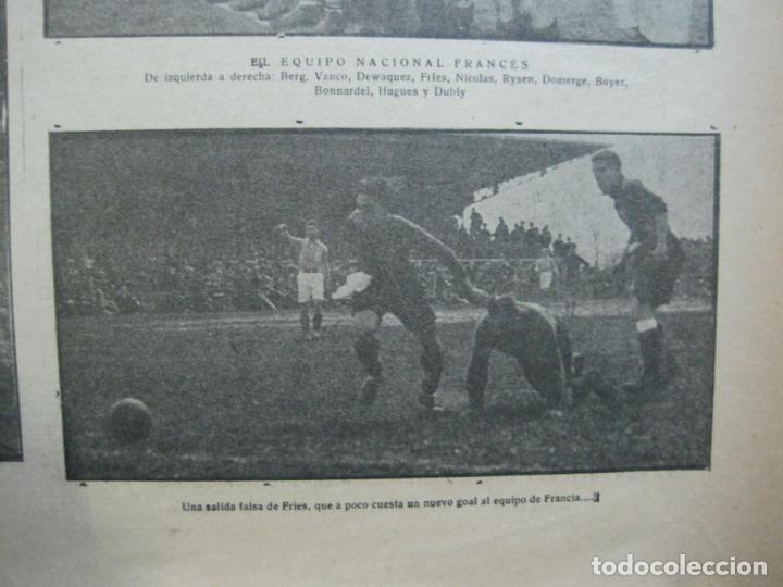 Coleccionismo deportivo: LA JORNADA DEPORTIVA-Nº 30-MAYO 1922-ESPAÑA VS FRANCIA-ALCANTARA-ZAMORA-FUTBOL-VER FOTOS-(V-22.464) - Foto 13 - 236028415