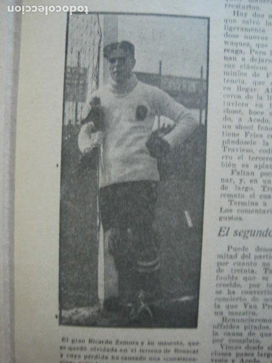 Coleccionismo deportivo: LA JORNADA DEPORTIVA-Nº 30-MAYO 1922-ESPAÑA VS FRANCIA-ALCANTARA-ZAMORA-FUTBOL-VER FOTOS-(V-22.464) - Foto 17 - 236028415