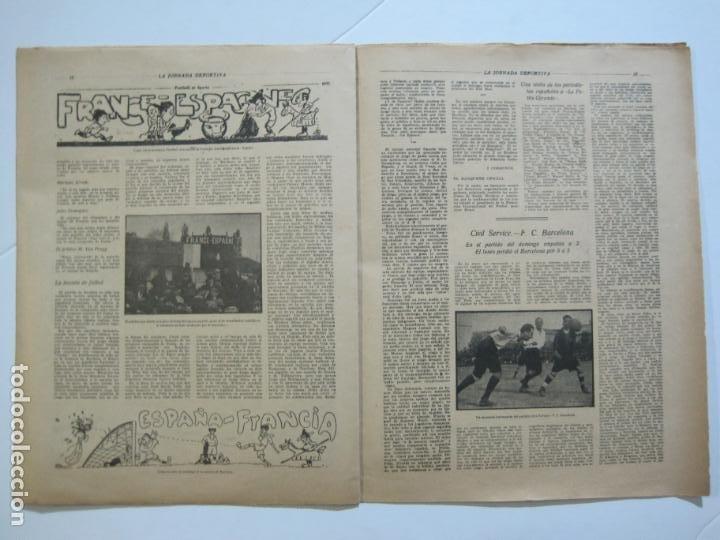 Coleccionismo deportivo: LA JORNADA DEPORTIVA-Nº 30-MAYO 1922-ESPAÑA VS FRANCIA-ALCANTARA-ZAMORA-FUTBOL-VER FOTOS-(V-22.464) - Foto 18 - 236028415