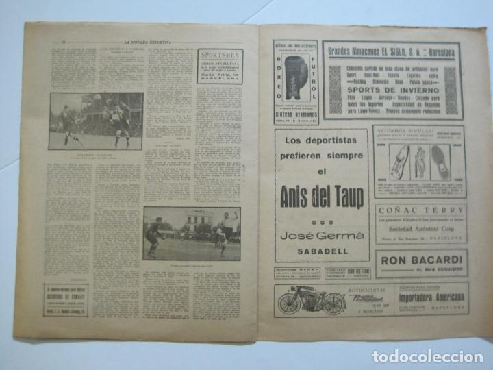 Coleccionismo deportivo: LA JORNADA DEPORTIVA-Nº 30-MAYO 1922-ESPAÑA VS FRANCIA-ALCANTARA-ZAMORA-FUTBOL-VER FOTOS-(V-22.464) - Foto 19 - 236028415