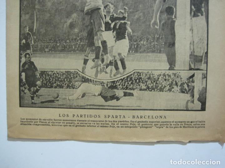 Coleccionismo deportivo: LA JORNADA DEPORTIVA-Nº 12-1921-SPARTA VS FC BARCELONA-ALCANTARA-ZAMORA-FUTBOL-VER FOTOS-(V-22.465) - Foto 4 - 236028910