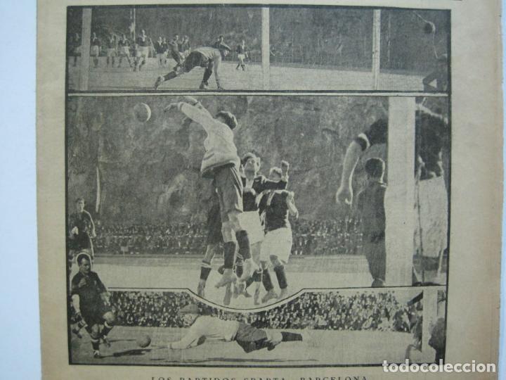 Coleccionismo deportivo: LA JORNADA DEPORTIVA-Nº 12-1921-SPARTA VS FC BARCELONA-ALCANTARA-ZAMORA-FUTBOL-VER FOTOS-(V-22.465) - Foto 5 - 236028910