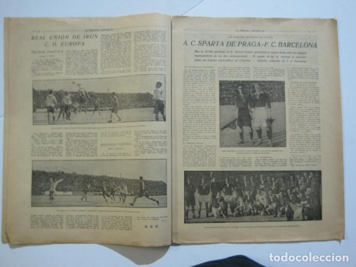 Coleccionismo deportivo: LA JORNADA DEPORTIVA-Nº 12-1921-SPARTA VS FC BARCELONA-ALCANTARA-ZAMORA-FUTBOL-VER FOTOS-(V-22.465) - Foto 8 - 236028910