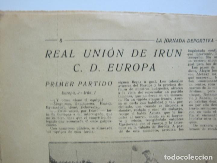 Coleccionismo deportivo: LA JORNADA DEPORTIVA-Nº 12-1921-SPARTA VS FC BARCELONA-ALCANTARA-ZAMORA-FUTBOL-VER FOTOS-(V-22.465) - Foto 11 - 236028910