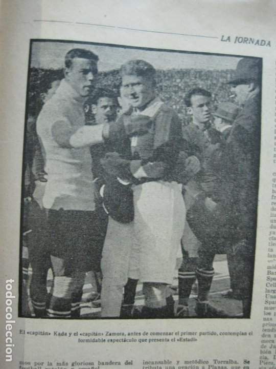 Coleccionismo deportivo: LA JORNADA DEPORTIVA-Nº 12-1921-SPARTA VS FC BARCELONA-ALCANTARA-ZAMORA-FUTBOL-VER FOTOS-(V-22.465) - Foto 15 - 236028910