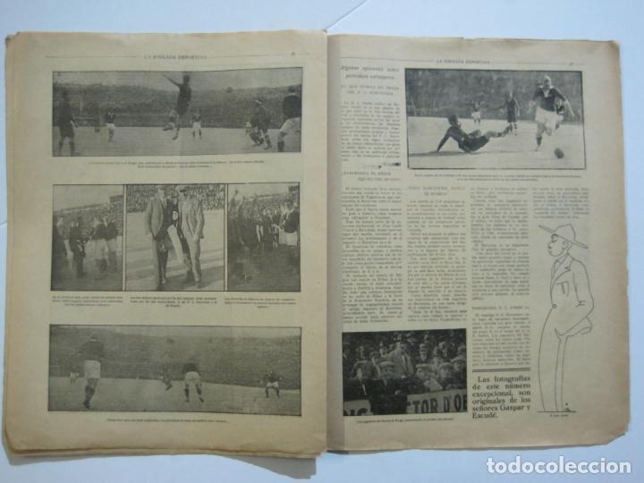 Coleccionismo deportivo: LA JORNADA DEPORTIVA-Nº 12-1921-SPARTA VS FC BARCELONA-ALCANTARA-ZAMORA-FUTBOL-VER FOTOS-(V-22.465) - Foto 16 - 236028910