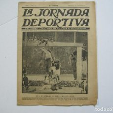Coleccionismo deportivo: LA JORNADA DEPORTIVA-Nº 12-1921-SPARTA VS FC BARCELONA-ALCANTARA-ZAMORA-FUTBOL-VER FOTOS-(V-22.465). Lote 236028910