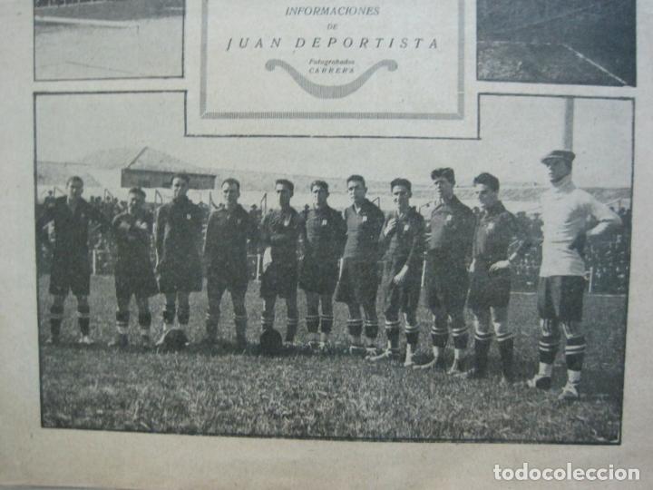 Coleccionismo deportivo: LA JORNADA DEPORTIVA-CAMPEONATO ESPAÑA-VIGO 1922-ALCANTARA-ZAMORA-FUTBOL-VER FOTOS-(V-22.465) - Foto 4 - 236029295