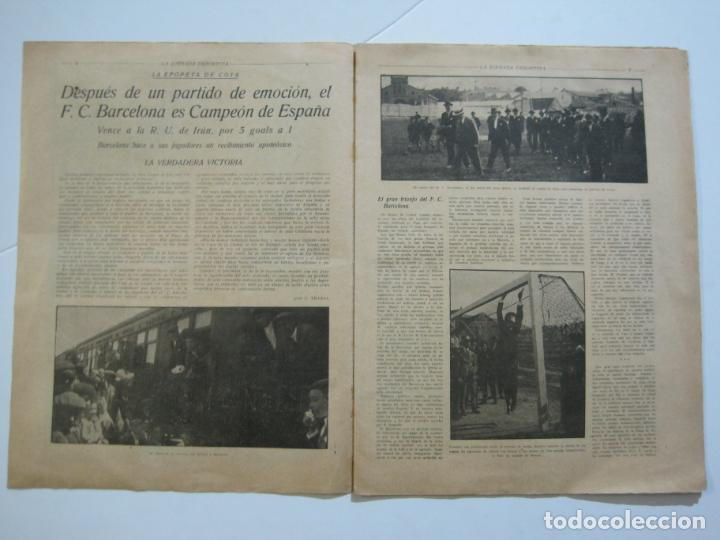 Coleccionismo deportivo: LA JORNADA DEPORTIVA-CAMPEONATO ESPAÑA-VIGO 1922-ALCANTARA-ZAMORA-FUTBOL-VER FOTOS-(V-22.465) - Foto 6 - 236029295