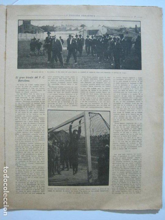 Coleccionismo deportivo: LA JORNADA DEPORTIVA-CAMPEONATO ESPAÑA-VIGO 1922-ALCANTARA-ZAMORA-FUTBOL-VER FOTOS-(V-22.465) - Foto 7 - 236029295