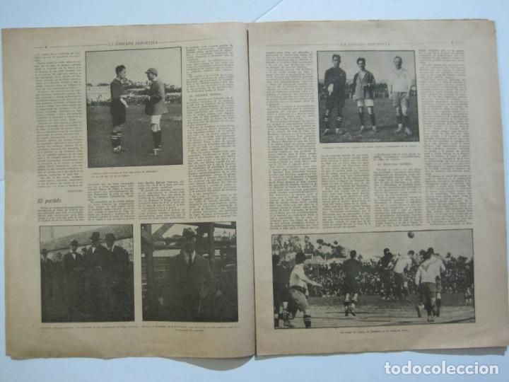 Coleccionismo deportivo: LA JORNADA DEPORTIVA-CAMPEONATO ESPAÑA-VIGO 1922-ALCANTARA-ZAMORA-FUTBOL-VER FOTOS-(V-22.465) - Foto 8 - 236029295