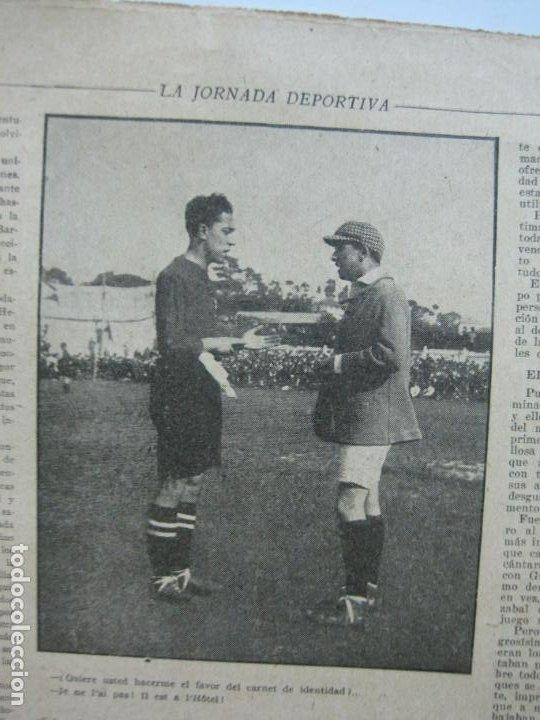 Coleccionismo deportivo: LA JORNADA DEPORTIVA-CAMPEONATO ESPAÑA-VIGO 1922-ALCANTARA-ZAMORA-FUTBOL-VER FOTOS-(V-22.465) - Foto 10 - 236029295