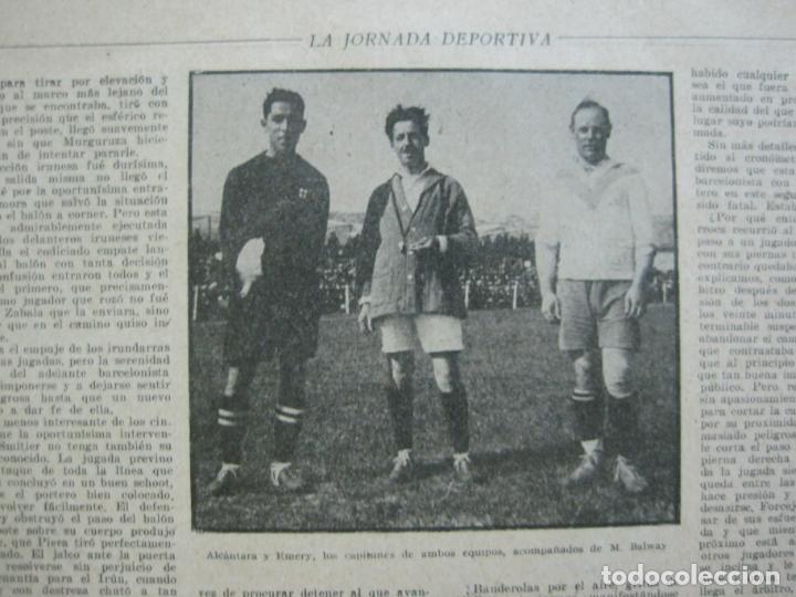 Coleccionismo deportivo: LA JORNADA DEPORTIVA-CAMPEONATO ESPAÑA-VIGO 1922-ALCANTARA-ZAMORA-FUTBOL-VER FOTOS-(V-22.465) - Foto 11 - 236029295