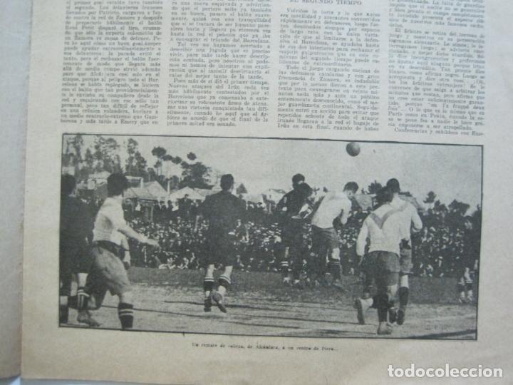 Coleccionismo deportivo: LA JORNADA DEPORTIVA-CAMPEONATO ESPAÑA-VIGO 1922-ALCANTARA-ZAMORA-FUTBOL-VER FOTOS-(V-22.465) - Foto 12 - 236029295