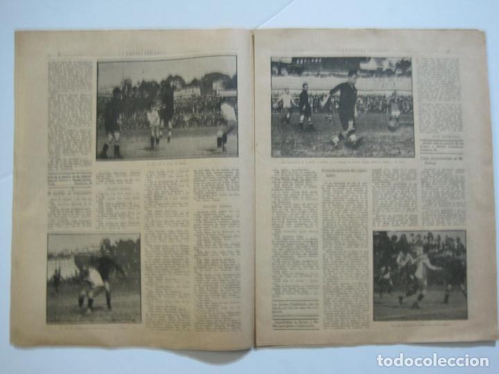 Coleccionismo deportivo: LA JORNADA DEPORTIVA-CAMPEONATO ESPAÑA-VIGO 1922-ALCANTARA-ZAMORA-FUTBOL-VER FOTOS-(V-22.465) - Foto 13 - 236029295