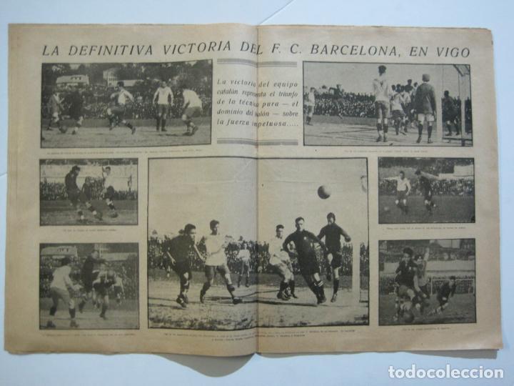 Coleccionismo deportivo: LA JORNADA DEPORTIVA-CAMPEONATO ESPAÑA-VIGO 1922-ALCANTARA-ZAMORA-FUTBOL-VER FOTOS-(V-22.465) - Foto 14 - 236029295