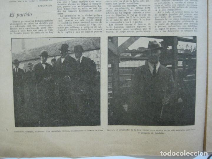 Coleccionismo deportivo: LA JORNADA DEPORTIVA-CAMPEONATO ESPAÑA-VIGO 1922-ALCANTARA-ZAMORA-FUTBOL-VER FOTOS-(V-22.465) - Foto 15 - 236029295