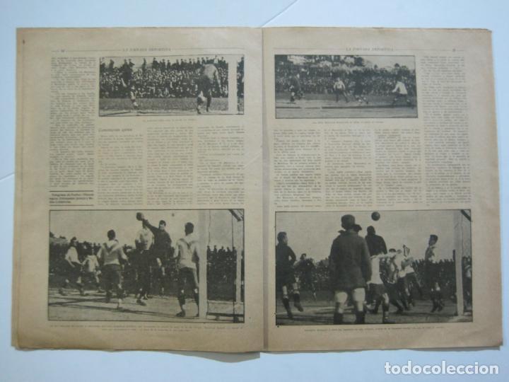 Coleccionismo deportivo: LA JORNADA DEPORTIVA-CAMPEONATO ESPAÑA-VIGO 1922-ALCANTARA-ZAMORA-FUTBOL-VER FOTOS-(V-22.465) - Foto 16 - 236029295