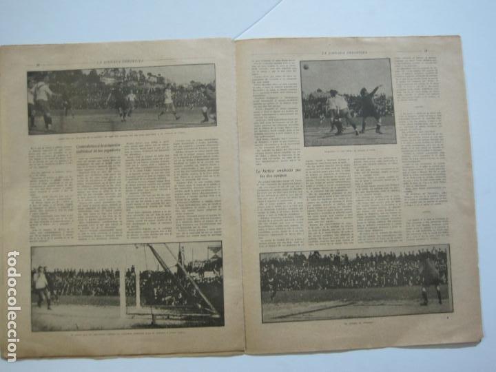 Coleccionismo deportivo: LA JORNADA DEPORTIVA-CAMPEONATO ESPAÑA-VIGO 1922-ALCANTARA-ZAMORA-FUTBOL-VER FOTOS-(V-22.465) - Foto 17 - 236029295