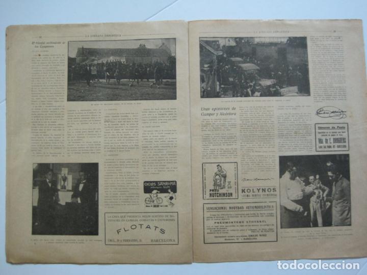 Coleccionismo deportivo: LA JORNADA DEPORTIVA-CAMPEONATO ESPAÑA-VIGO 1922-ALCANTARA-ZAMORA-FUTBOL-VER FOTOS-(V-22.465) - Foto 18 - 236029295