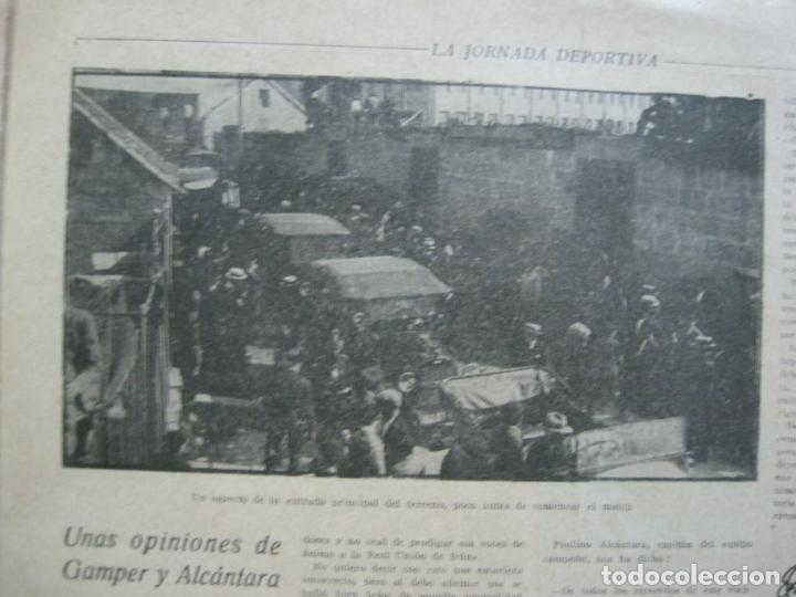 Coleccionismo deportivo: LA JORNADA DEPORTIVA-CAMPEONATO ESPAÑA-VIGO 1922-ALCANTARA-ZAMORA-FUTBOL-VER FOTOS-(V-22.465) - Foto 20 - 236029295