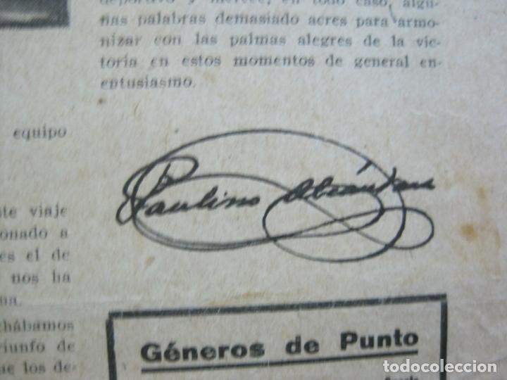 Coleccionismo deportivo: LA JORNADA DEPORTIVA-CAMPEONATO ESPAÑA-VIGO 1922-ALCANTARA-ZAMORA-FUTBOL-VER FOTOS-(V-22.465) - Foto 24 - 236029295