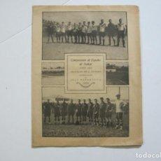 Coleccionismo deportivo: LA JORNADA DEPORTIVA-CAMPEONATO ESPAÑA-VIGO 1922-ALCANTARA-ZAMORA-FUTBOL-VER FOTOS-(V-22.465). Lote 236029295