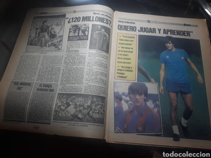 Coleccionismo deportivo: DIARIO SPORT N° 969 . 3 AGOSTO 1982 .HOY DEBUTA EL BARCA 83. SIMONSEN - MARADONA. POSTER ESPAÑOL 83 - Foto 2 - 236048750