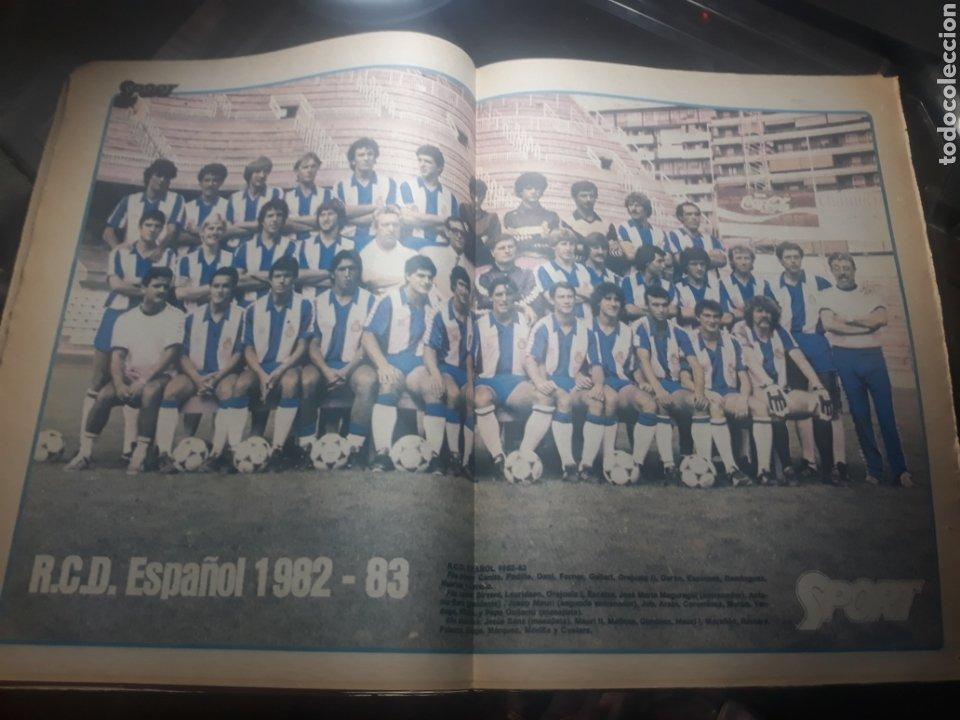 Coleccionismo deportivo: DIARIO SPORT N° 969 . 3 AGOSTO 1982 .HOY DEBUTA EL BARCA 83. SIMONSEN - MARADONA. POSTER ESPAÑOL 83 - Foto 9 - 236048750