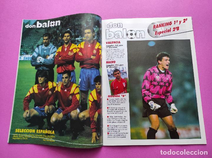 Coleccionismo deportivo: REVISTA DON BALON Nº 914 1993 POSTER SELECCION ESPAÑOLA 93 - NAYIM ZARAGOZA - FIGUERES - FERRER - Foto 2 - 236074985