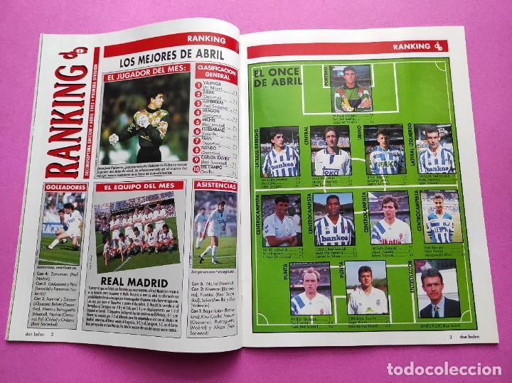 Coleccionismo deportivo: REVISTA DON BALON Nº 914 1993 POSTER SELECCION ESPAÑOLA 93 - NAYIM ZARAGOZA - FIGUERES - FERRER - Foto 3 - 236074985
