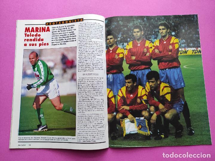 Coleccionismo deportivo: REVISTA DON BALON Nº 914 1993 POSTER SELECCION ESPAÑOLA 93 - NAYIM ZARAGOZA - FIGUERES - FERRER - Foto 4 - 236074985