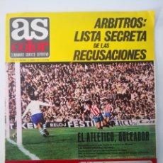 Coleccionismo deportivo: AS COLOR N° 4 - 15 JUNIO 1971. POSTER VALENCIA CF. DI STEFANO. SEMANARIO GRÁFICO DEPORTIVO. Lote 236075210