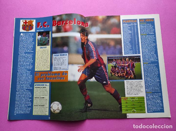 Coleccionismo deportivo: REVISTA DON BALON Nº 943 1993 SUPLEMENTO CHAMPIONS LEGUE 93-94 POSTER SELECCION ESPAÑOLA MUNDIAL USA - Foto 5 - 236075355