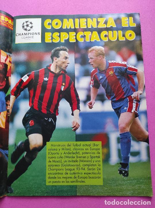 REVISTA DON BALON Nº 943 1993 SUPLEMENTO CHAMPIONS LEGUE 93-94 POSTER SELECCION ESPAÑOLA MUNDIAL USA (Coleccionismo Deportivo - Revistas y Periódicos - Don Balón)
