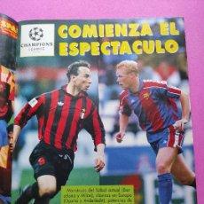 Coleccionismo deportivo: REVISTA DON BALON Nº 943 1993 SUPLEMENTO CHAMPIONS LEGUE 93-94 POSTER SELECCION ESPAÑOLA MUNDIAL USA. Lote 236075355