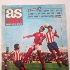 Coleccionismo deportivo: AS COLOR N° 15 - AGOSTO 1971 - POSTER GRANADA CF. SEMANARIO GRÁFICO DEPORTIVO.. Lote 236076555