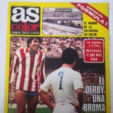 Coleccionismo deportivo: AS COLOR N° 414 - ABRIL 1979. NEESKENS. ESPAÑOLES FÓRMULA 1. POSTER CELTA DE VIGO. Lote 236080420