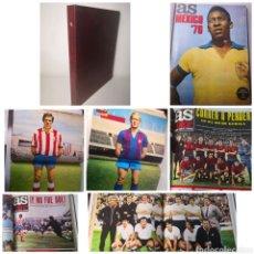 Coleccionismo deportivo: TOMO CON 9 REVISTAS AS COLOR 1972 CON POSTERS. Lote 236084985
