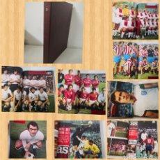 Coleccionismo deportivo: TOMO CON 12 REVISTAS AS COLOR (ENERO-ABRIL 1973). CON POSTERS. Lote 236096005