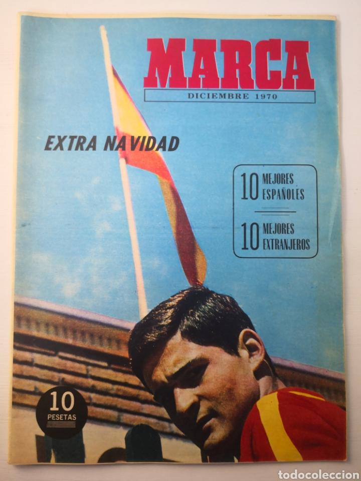 DIARIO MARCA, EXTRA NAVIDAD, DICIEMBRE 1970. MUY BUEN ESTADO (Coleccionismo Deportivo - Revistas y Periódicos - Marca)