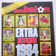Coleccionismo deportivo: DON BALÓN EXTRA RESUMEN 1984. Lote 236121635