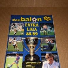 Coleccionismo deportivo: DON BALÓN EXTRA LIGA 1988/89. Lote 259713265