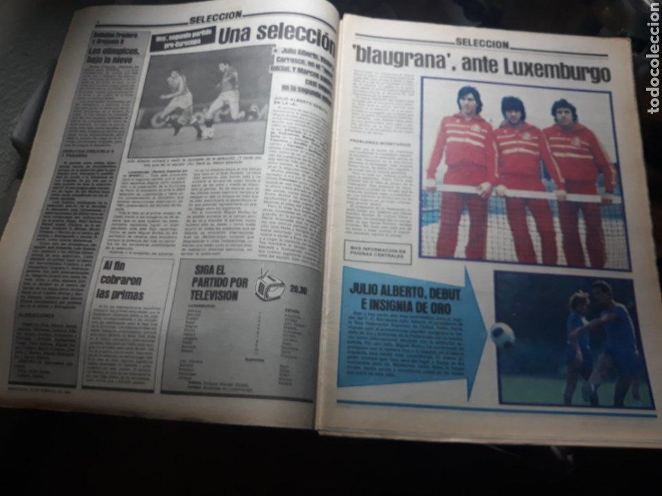 Coleccionismo deportivo: SPORT N° 1539 .29 FEBRERO 1984 . DEBUTA JULIO ALBERTO. MARADONA Y LOS MÉDICOS. - Foto 2 - 236150410