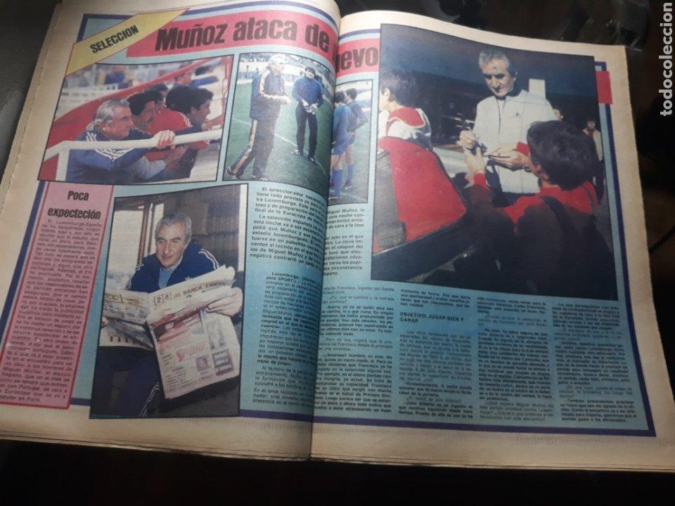 Coleccionismo deportivo: SPORT N° 1539 .29 FEBRERO 1984 . DEBUTA JULIO ALBERTO. MARADONA Y LOS MÉDICOS. - Foto 4 - 236150410
