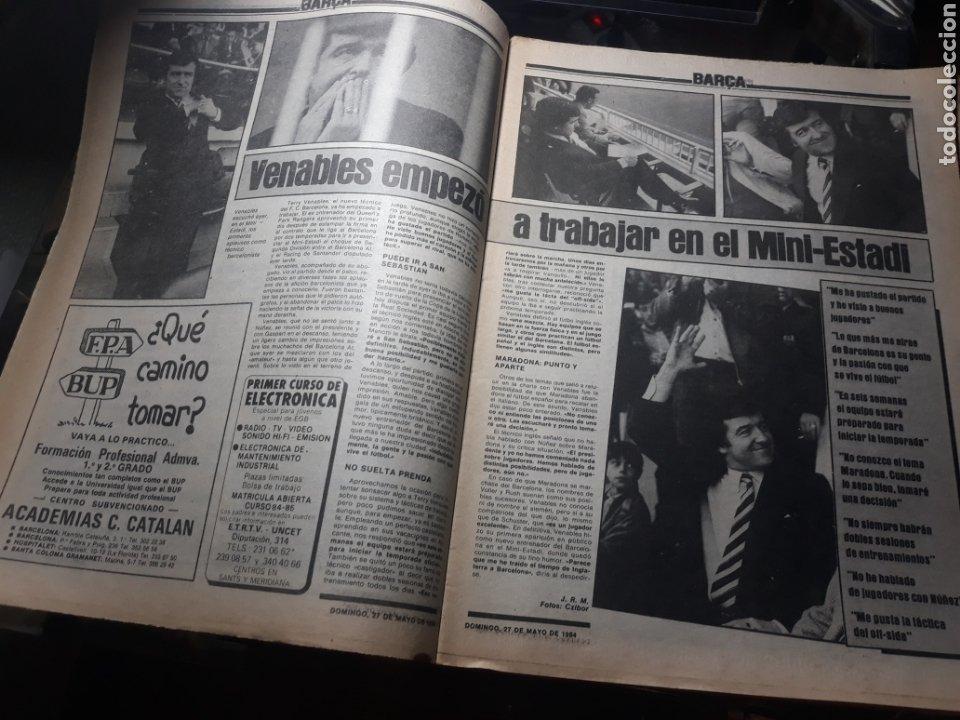 """Coleccionismo deportivo: SPORT N° 1626 .27 MAYO 1984. MARADONA """" QUIERO IRME"""". SUIZA 0 ESPAÑA 4 - Foto 5 - 236152700"""